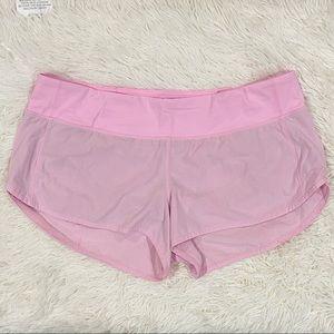 "Lululemon speed up short 2.5"" - Miami Pink"